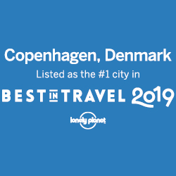 Best in travel 2019, Lonely Planet, Copenhagen